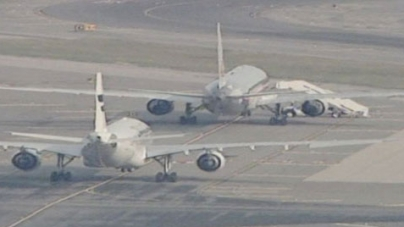 2 jets at JFK airport searched after bogus threats