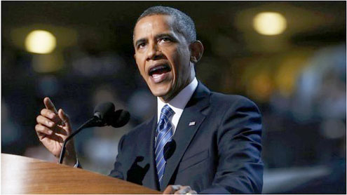 Democratic convention: Obama lays out election choice