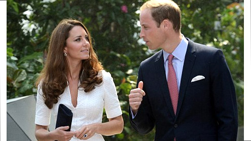 Bottomless pictures of Duchess Kate published by Danish magazine