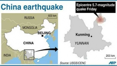 China earthquakes damage 20,000 homes, leave 50 dead