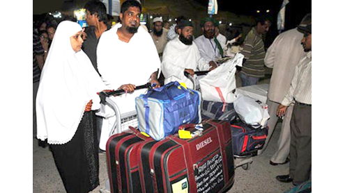 First Hajj flight leaves today
