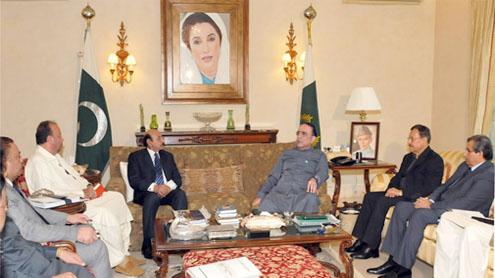 Get ready for polls, Zardari tells party