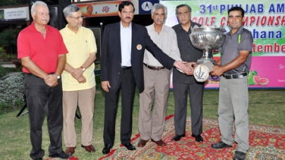 Ghazanfar wins 31st Punjab Amateur Golf Title