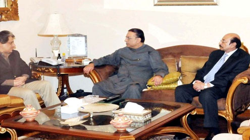 Govt to restore law and order in Karachi at any cost: Zardari