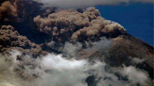 Guatemala Fuego volcano eruption triggers evacuation