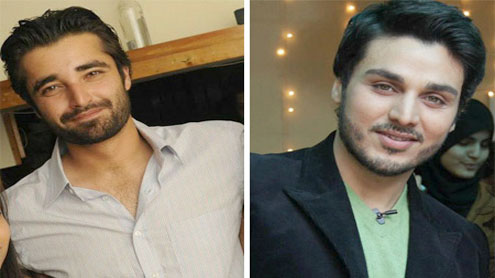 Hamza Ali Abbasi and Ahsan Khan