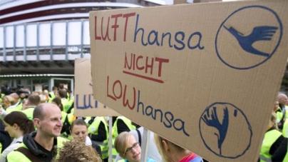 Lufthansa flights hit again by cabin crew strike