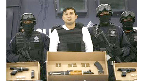 Mexico extradites senior Zetas drug cartel member to U.S