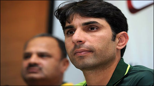 Misbah says fourth spinner a possibility in Sharjah