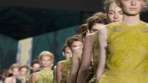NY Fashion Week inspired by faraway lands