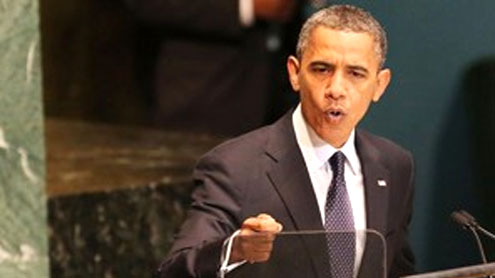 Obama asks leaders to speak out forcefully against terrorism