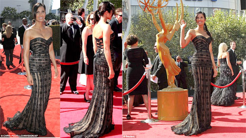 Padma Lakshmi Flaunts Her Curves In A Sheer Gown At Creative Arts Emmys