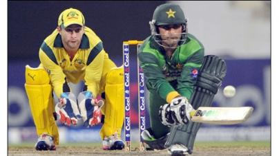 Pakistan draw first blood