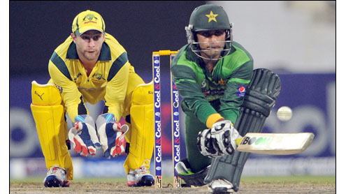 Pakistan draw first blood