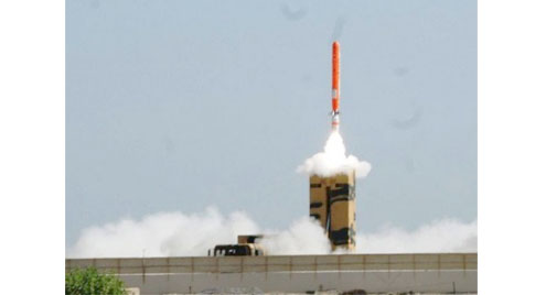 Pakistan test-fires nuclear capable cruise missile