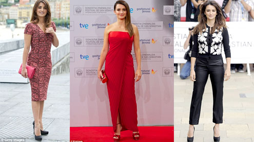Veuto Al Mondo Premiere: Donning the red hot dress Penolope Cruz sizzles the red carpet