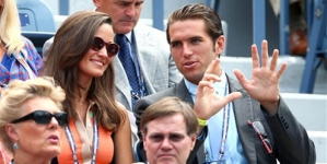Pippa Middleton watches US Open with tennis player Spencer Vegosen