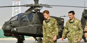 Prince Harry back in Afghanistan as Apache helicopter pilot