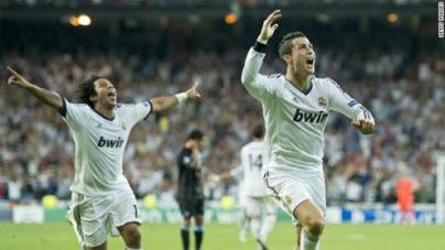 Real Madrid stun Man City with last-minute Ronaldo goal