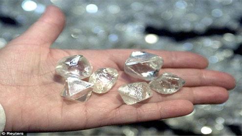 Asteroid Crater Vast Diamond Source