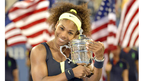 Serena Williams defeats Victoria Azarenka to take title