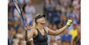 Sharapova ends last-eight drought at US Open