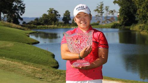 Shin wins Kingsmill Golf Championship