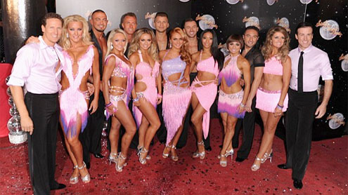 Stars Make The Strictly Come Dancing A Real Glittery Show