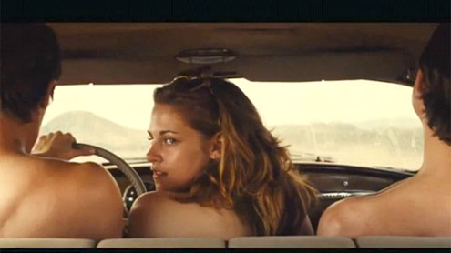 Kristen Stewart brushes off topless scenes in new film On the Road