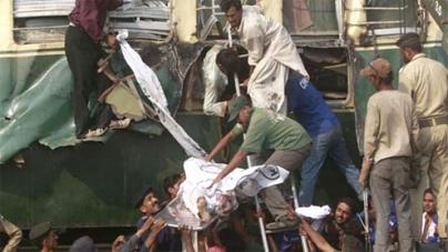 Trains collide near Karachi, 1 killed, several injured