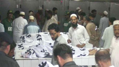 Infant, six others killed: Twin blasts hit Bohra community in Karachi