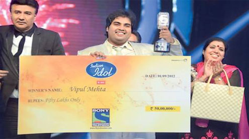 Punjabi boy Vipul wins Indian Idol 6
