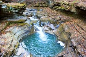 Watkins Glen State Park in USA
