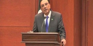 Zardari to address UNGA today