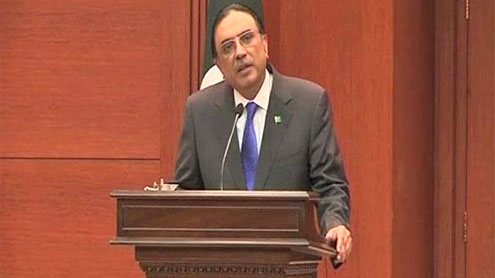 Zardari to address UNGA today