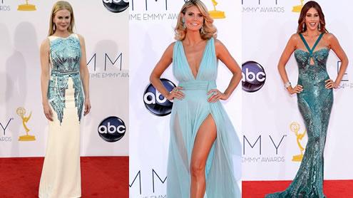 Sofia Vergara, Heidi Klum and Nicole Kidman lead the glamour parade at Emmy Awards