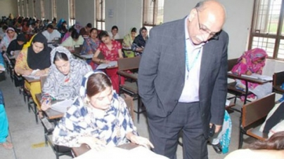 Abusive language in exam hall creates havoc