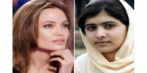 Angelina Jolie for Nobel peace award for Malala
