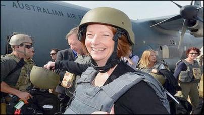 Aussie PM makes surprise visit to Kabul