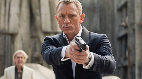 Bond is the man with the golden touch again as critics hail new movie