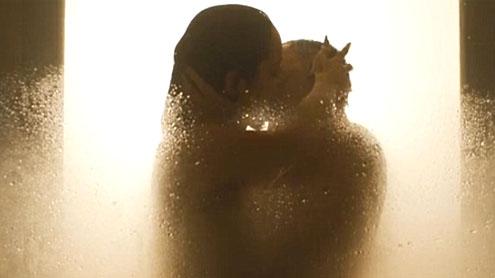 Bond sexy shower scene