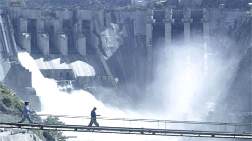 Work on three dams construction stopped
