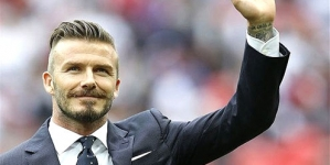 David Beckham – Football Superstar and Media Celebrity