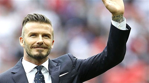 David Beckham – Football Superstar and Media Celebrity