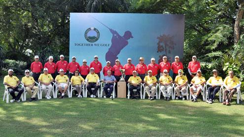 Delhi Golf Team and the Together we Golf Team