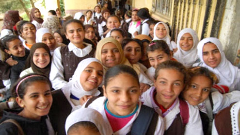 Egypt teacher cuts hair of schoolgirls for not wearing Muslim headscarf