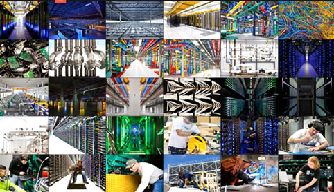 Google allows first ever look at the eight vast data centres