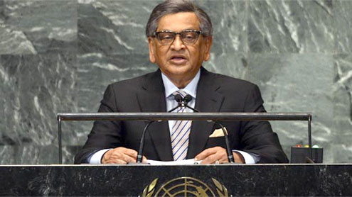 India clashes with Pakistan at UN