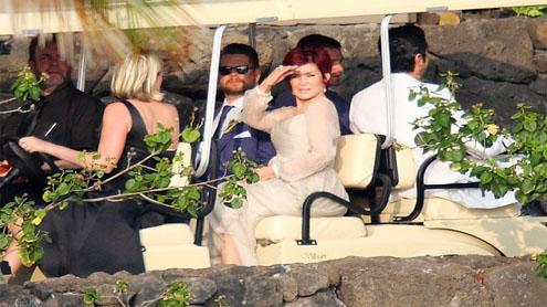 Jack Osbourne marries Lisa Stelly in fun-filled Hawaiian ceremony