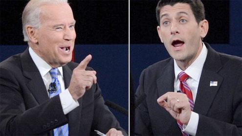 US running mates clash in debate